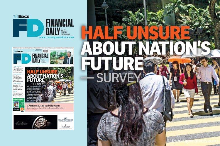 调查:一半国民不确定国家未来